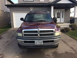 Need gone, no parking a 2001 Dodge 4x4