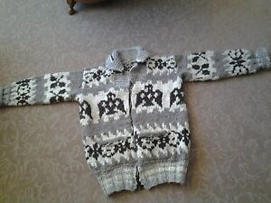 On Trend Vintage Cowichan Sweater