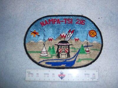 Nampa Tsi Lodge 216 J1 Great Rivers Order Arrow Back Patch  Missouri - 5