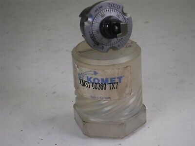 New Komet Xm31 00360 Tx7 Tool Holder U5