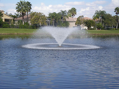 Kasco 5.3VFX150 Floating Aerating Fountain 5hp 240 volts 3 Phase 150' Cord WPS