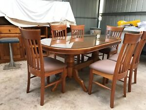 SOLID TIMBER DINING ROOM FURNITURE
