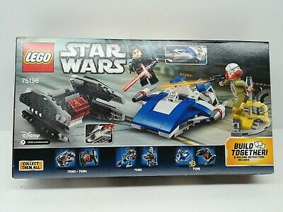 Lego Star Wars A-Wing vs. Tie Silencer Microfighters Series 5 75196 New sealed