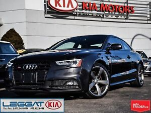 2014 Audi S5 TECHNIK | NO ACCIDENTS | ONE OWNER | SUPERCHARGED