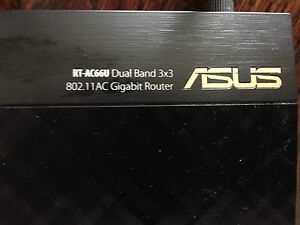 ASUS RT AC66U dual band router