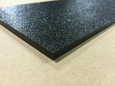 Black Abs Plastic Sheet 18 X 24 X 48 Vacuum Forming Rc Body Hobby