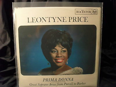 Leontyne Price - Prima Donna / Great Soprano Arias from Purcell to Barber