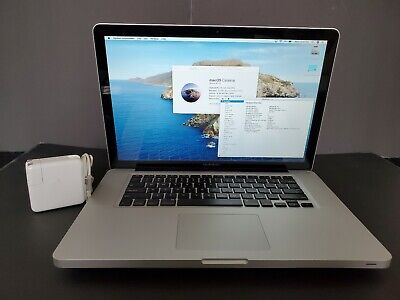 "Apple MacBook Pro Quad Core i7 2.3GHz 15"" 16GB+2TB SSHD+OS Catalina+Dual GPU+Wty"