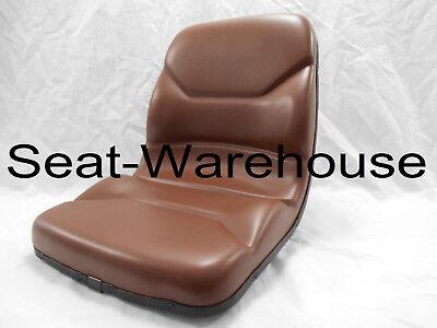 BROWN SEAT FITS CASE TLB BACKHOE LOADER 580C, 580D, 580E, 580K, 580L,580M #NO