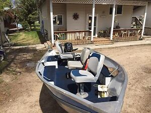 Lund 14' Fishing Boat