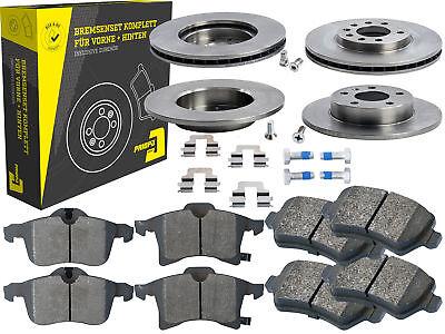 4 Bremsscheiben + Beläge Vorne & Hinten Opel Astra Corsa C Meriva B Zafira B