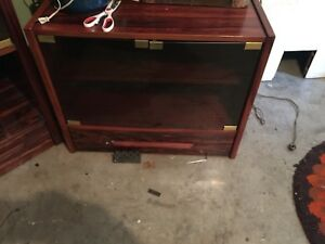 Danish rosewood tv stand and stereo cabinet