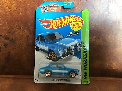 Hot Wheels Fast And Furious 70 Ford Escort RS 1600 HW Workshop
