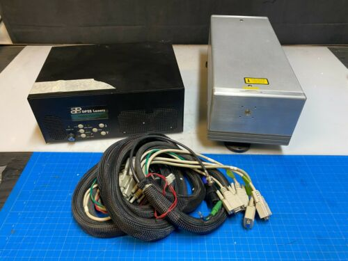 DPSS Lasers 3510-30 3500 Series Laser 355 nm output at 1W@30 & Power Supply 3500