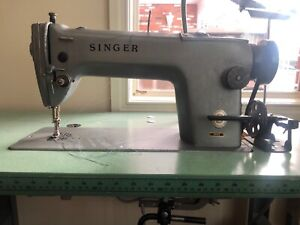 Old Singer Industrial Sewing Machine