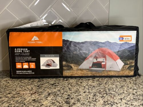 New Ozark Trail 4 Person Camping Outdoor Family Outings Picn