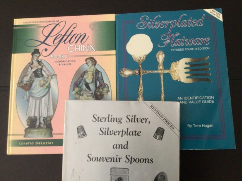 Reference Books for Antique Silver and China