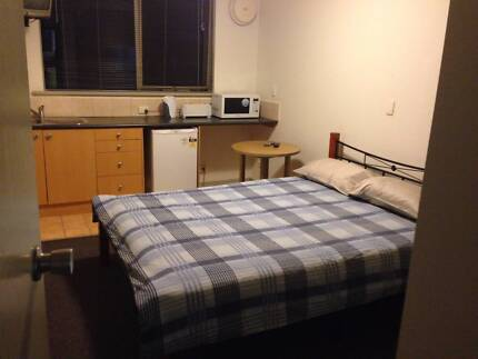furnished studio, suits couple ,no bills , great  location