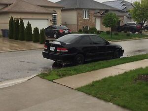 99 Honda Civic coupe 2 door