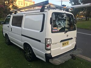 Toyota Hiace 1999 injected Electricians van manual duel fuel Beaumont Hills The Hills District Preview
