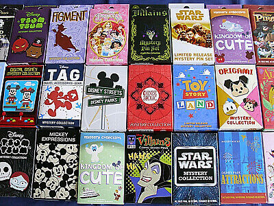 Disney * 5 FOR $50 SPECIAL * New & Sealed 2-Pin Mystery Boxes