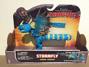 STORMFLY Tail Twist! How to Train your Dragon / Berk movie Toy Action Figure