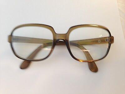 Vintage Viennaline Eyeglasses Optyl 904 56-20-145 Brown Square (Grunge Eye Glasses)