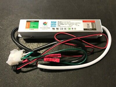 Cleanlife Power Supply 20w 24v 100-240v Ac Input Ip66 Wet Location Grounded