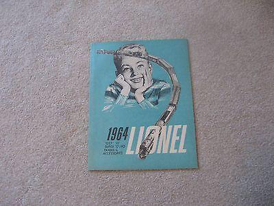 1964 LIONEL TRAINS CONSUMER CATALOG MINT