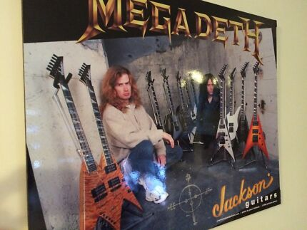 Megadeth collection up for sale...!!!! Midland Swan Area Preview