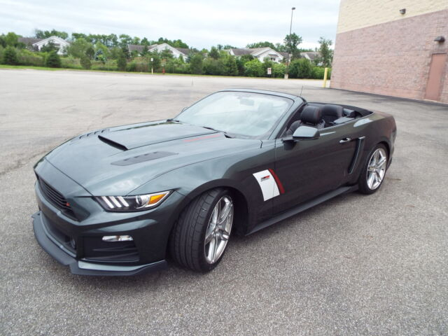 2015 roush stage 3 rs3 convertible 670hp 3 built supercharged premium nav new ford mustang. Black Bedroom Furniture Sets. Home Design Ideas