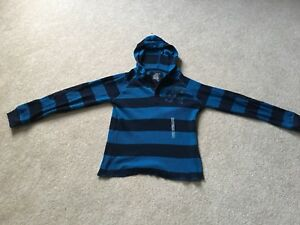Old Navy youth medium striped hoodie ( age 9-13 yrs.)