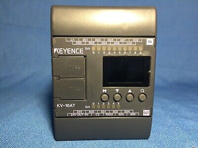 New  Keyence Kv-16at With Manuals For Setup And Programming