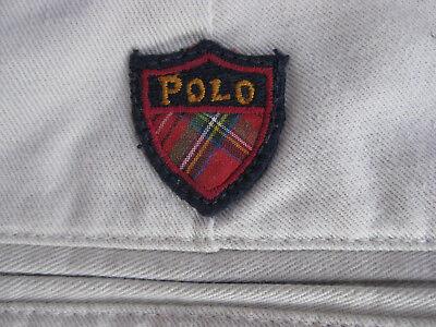 Zwei Falte Hose (Polo Golf Hose, kurz, beige, zwei Bundfalten, Größe 50, gebraucht)