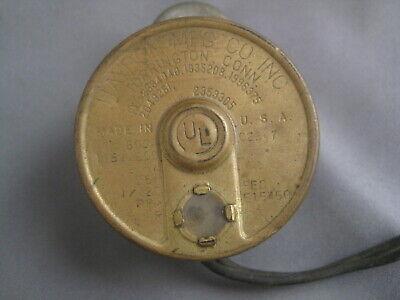 Haydon Mfg. Clock Motor 1600a C2347 115v 60c 0.5a 1120 Rpm E15450 2.5 Watt