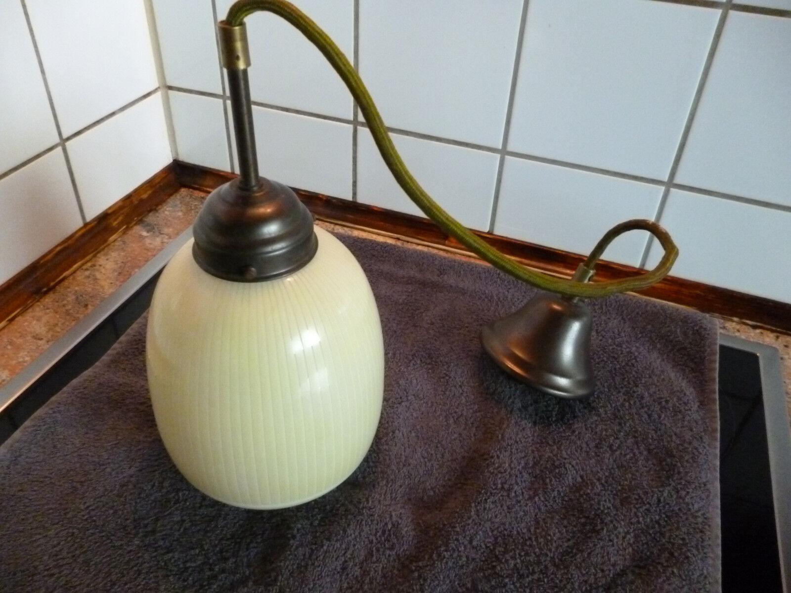 Plafonniere Messing Glas : Deckenlampe flurlampe art deco glasschirm