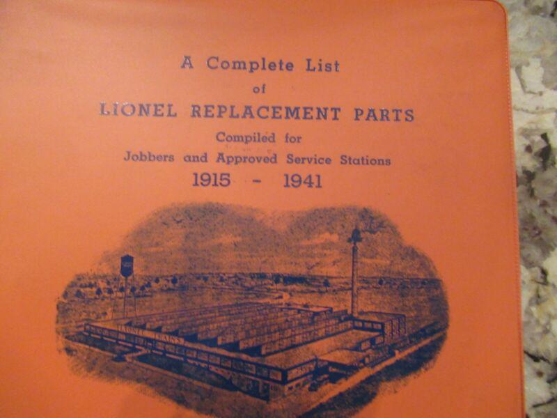 train service manual 1915-1941