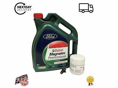 GENUINE FORD Focus 2013 1.0L Ecoboost Service Kit with GENUINE OIL 5W20