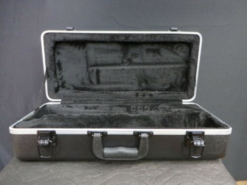 Deluxe Trumpet Case in Black w Aluminum Trim, USA Seller, Ships Fast!