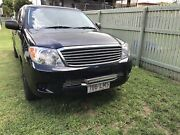 Toyota. HiLux V6 petrol.  Rasmussen Townsville Surrounds Preview