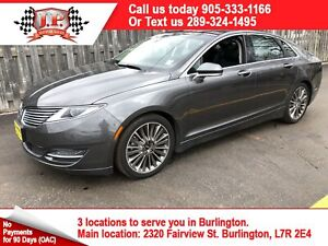2015 Lincoln MKZ Navigation, Leather, Panoramic Sunroof, AWD