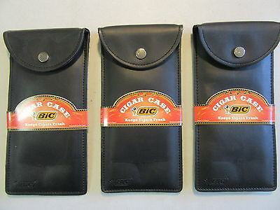 New Bic Cigar Pouch Snap Case Holds 2 To 3 Cigars Vapor Or Medical Herb Protecti