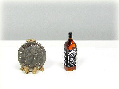 Dollhouse Miniature Plastic Jack Daniels Whiskey Bottle for sale  Franklin