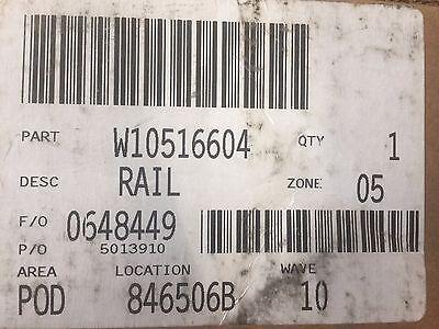 Запчасти и аксессуары Genuine W10516604 Whirlpool