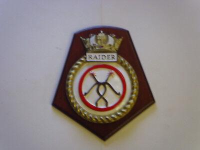 SHIPS CREST - HMS RAIDER