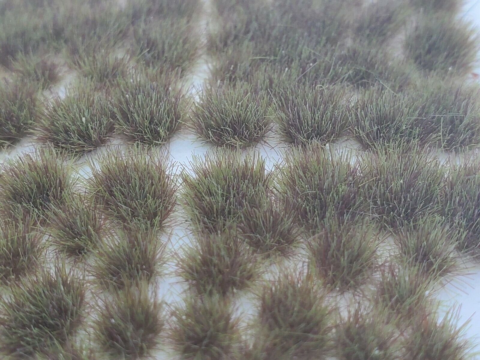 Self Adhesive Static Grass Tufts- Miniature Scenery/Terrain-Dry Steppe Grass  4