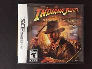 DS GAME INDIANA JONES