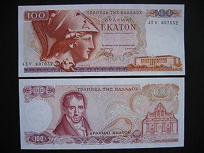 GREECE  100 Drachmai 8.12.1978  (P200b)  UNC