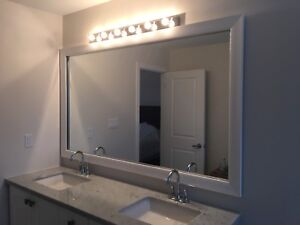 Bathroom light fixtures x 3