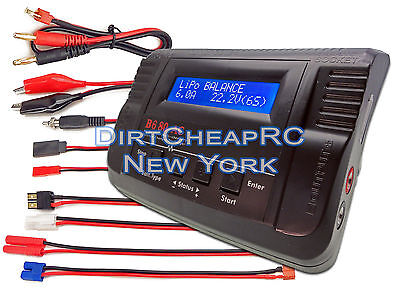 Imax B680ac Car 6A80w Acdc Lipo Battery Balance Charger Traxxas Deans Ec3 Redcat